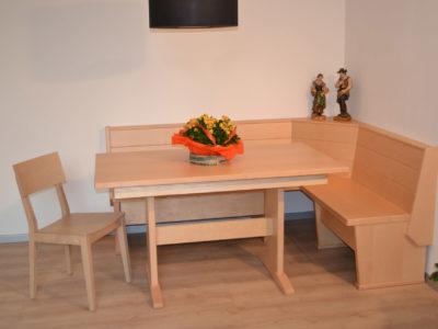 panca e tavolo orchidea