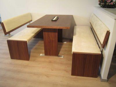panca e tavolo mimosa legno