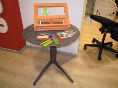 Del Fabbro tavolino e leggio in legno
