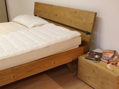 Scandola particolare letto