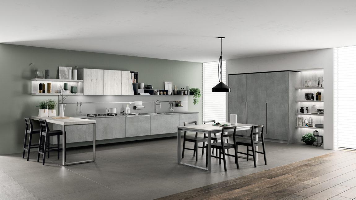 Gusto contemporaneo e qualità del vivere in cucina