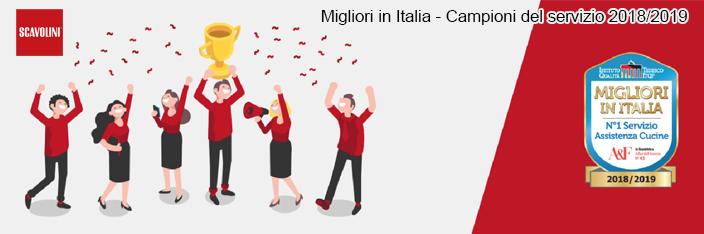 Scavolini: migliori d'Italia nel servizio 2018-2019