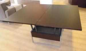 tavolino-tavolo aperto trasformabile